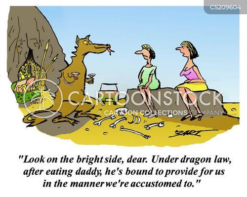 divorce law cartoon