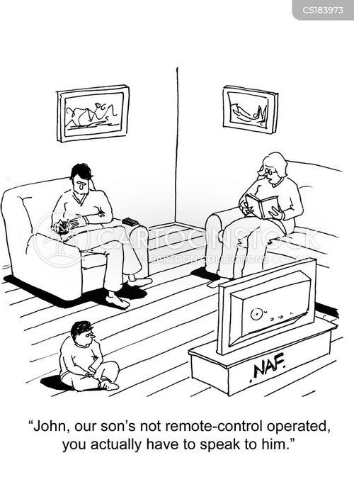 remotes cartoon