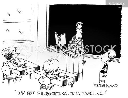 filibustering cartoon