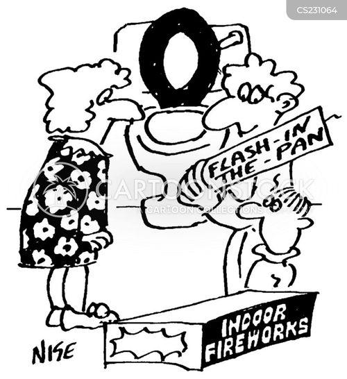 flash in the pan cartoon