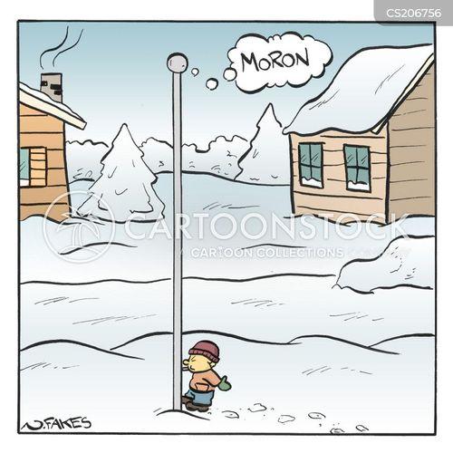 moron cartoon