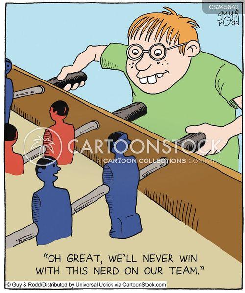 table football cartoon