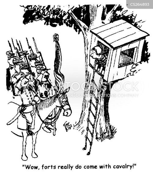 private army cartoon
