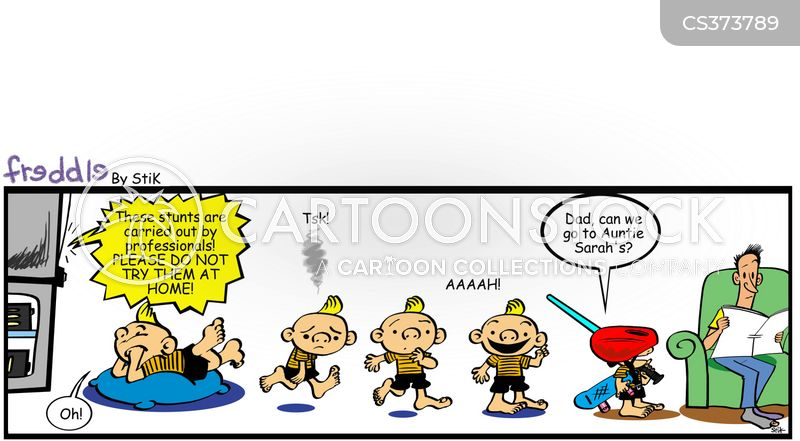 do not try at home cartoon
