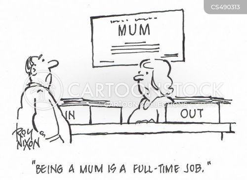 full time job cartoon