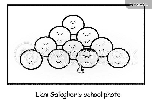 gallagher cartoon