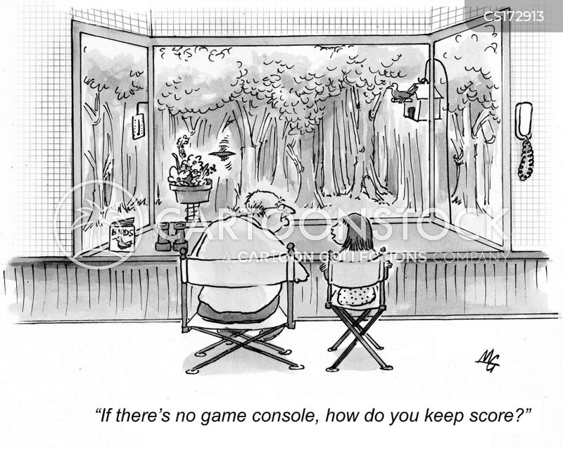 keeping score cartoon