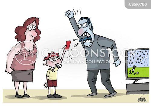 gender violence cartoon