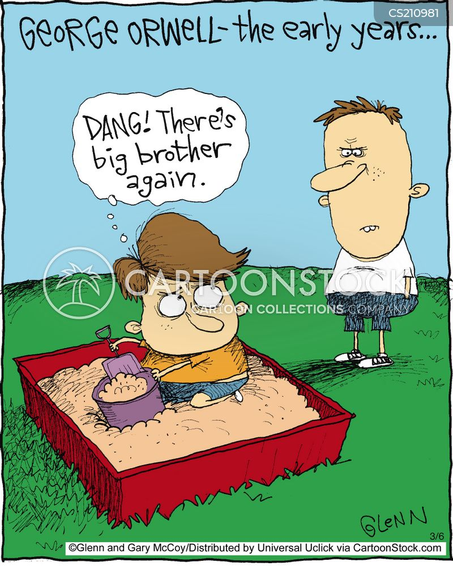 sand box cartoon
