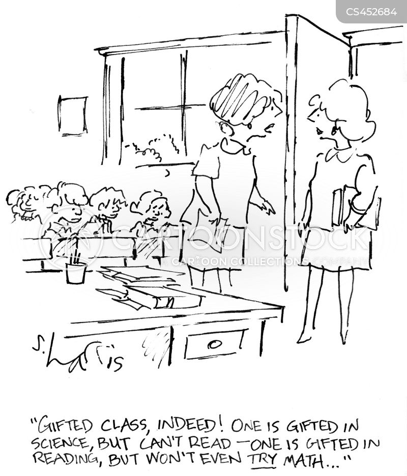 gifted children cartoon