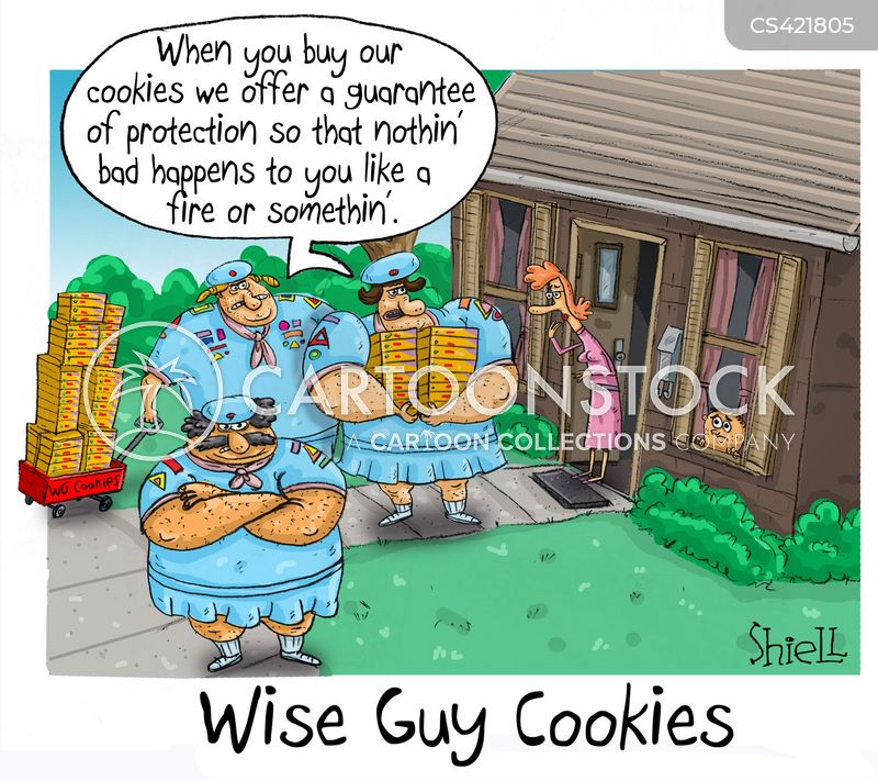 protection rackets cartoon