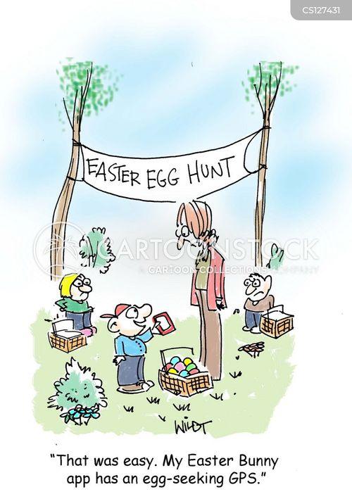 treasure hunter cartoon