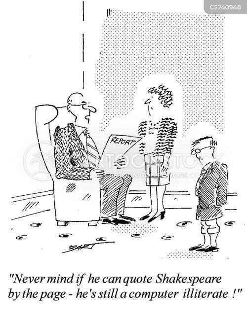 computer illiteracy cartoon
