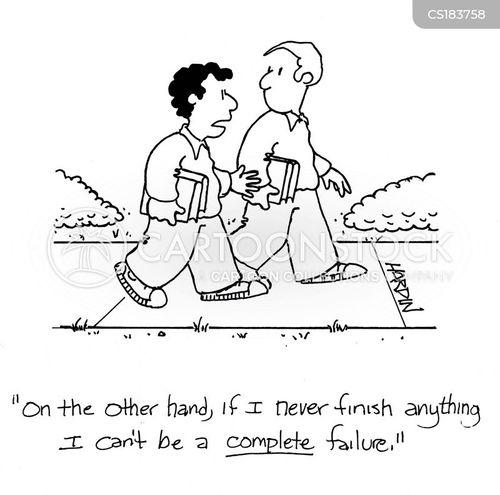 finish cartoon