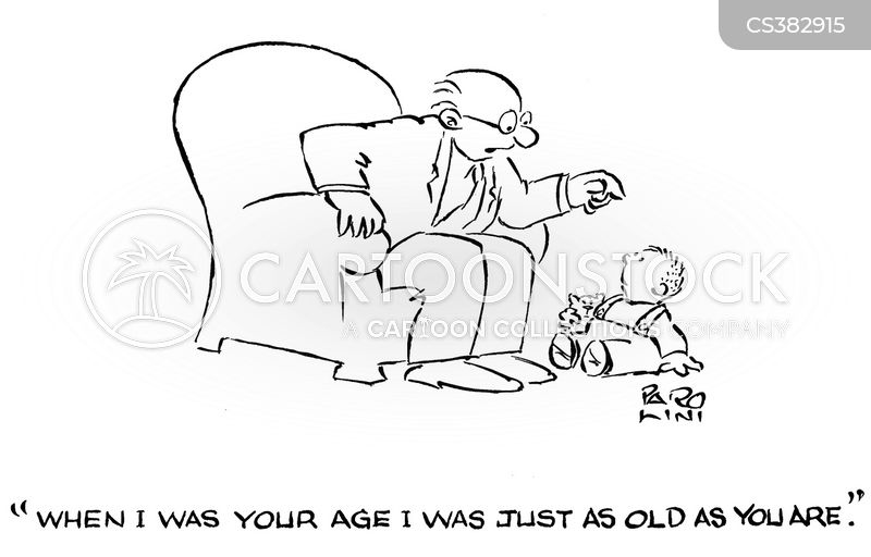 when i was your age cartoon