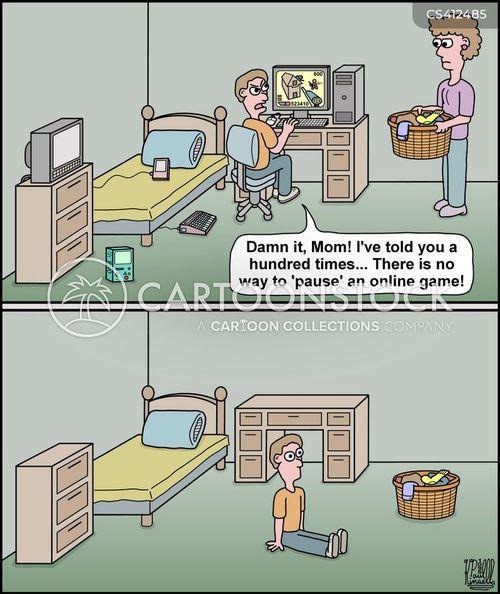 online games cartoon