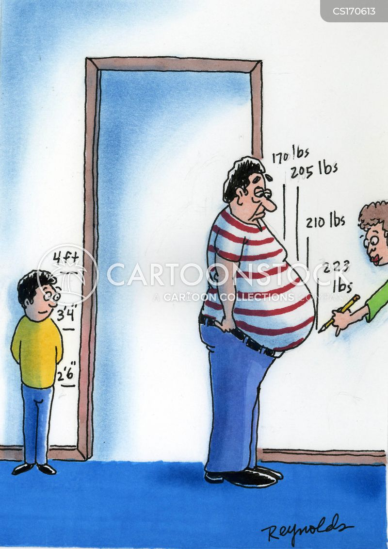 Fat Belly Cartoons And Comics Funny Pictures From Cartoonstock