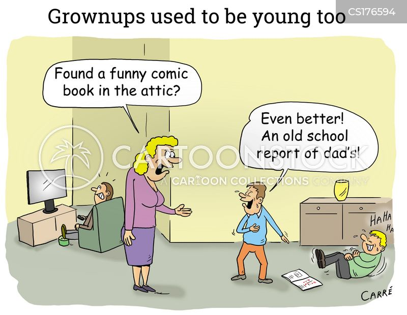 grownup cartoon