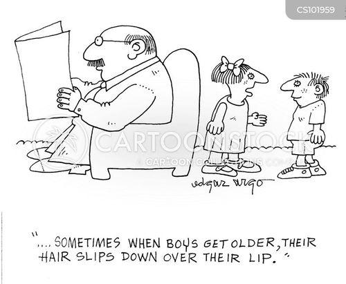 pubescent cartoon
