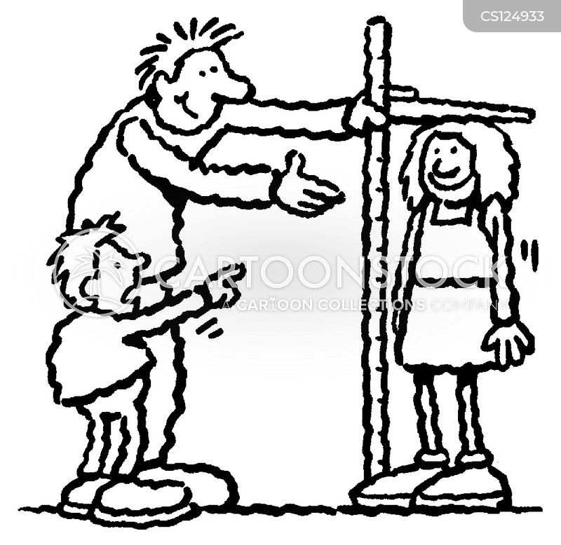 measuring stick cartoon