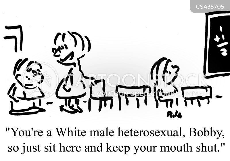 white male cartoon