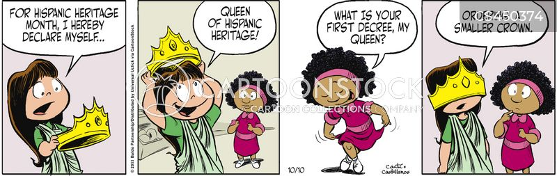 hispanic heritage cartoon
