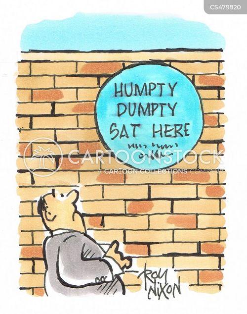 blue plaque cartoon