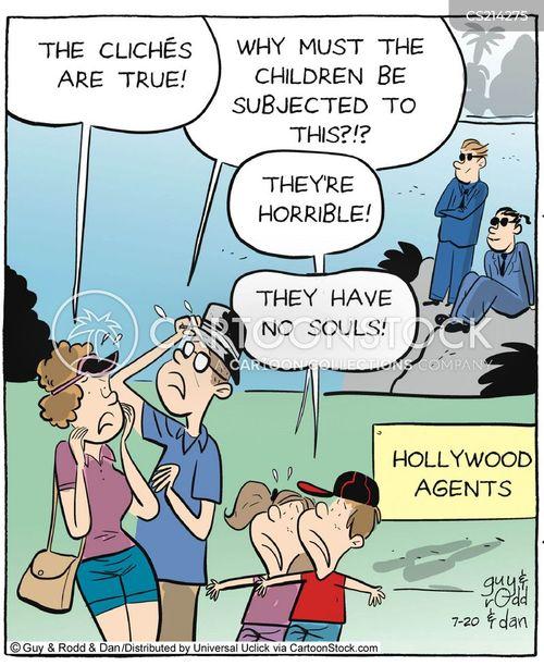 spoilt children cartoon