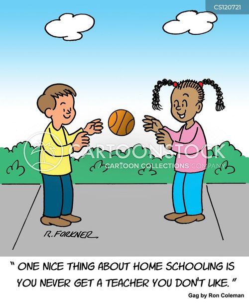 home educators cartoon