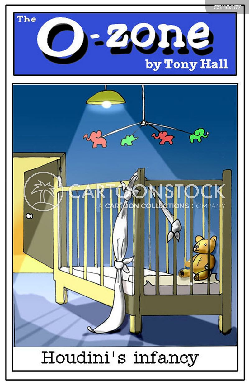 escapology cartoon