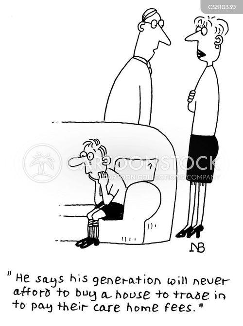 worried parents cartoon