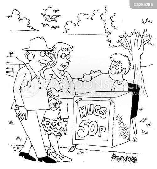 tactile cartoon