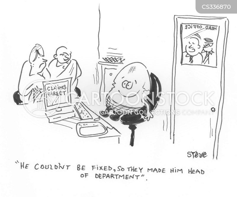 head office cartoon