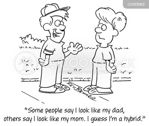 genealogy cartoon