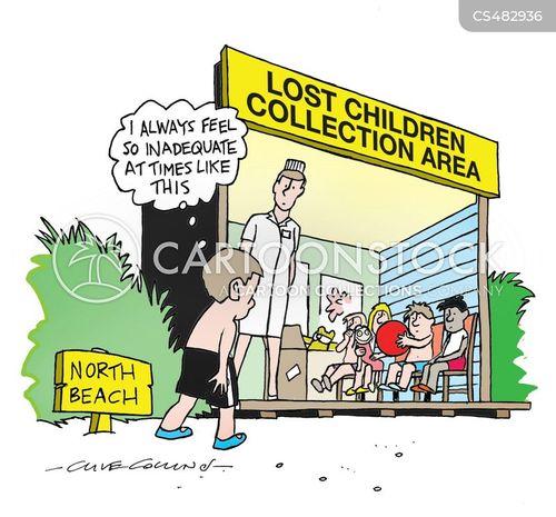 missing kid cartoon