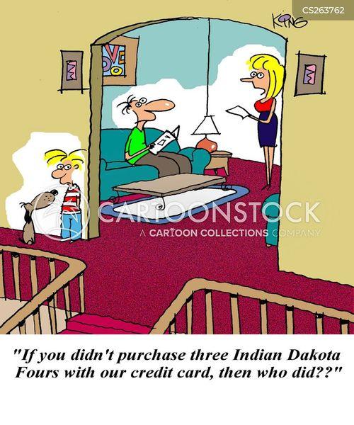dakota cartoon