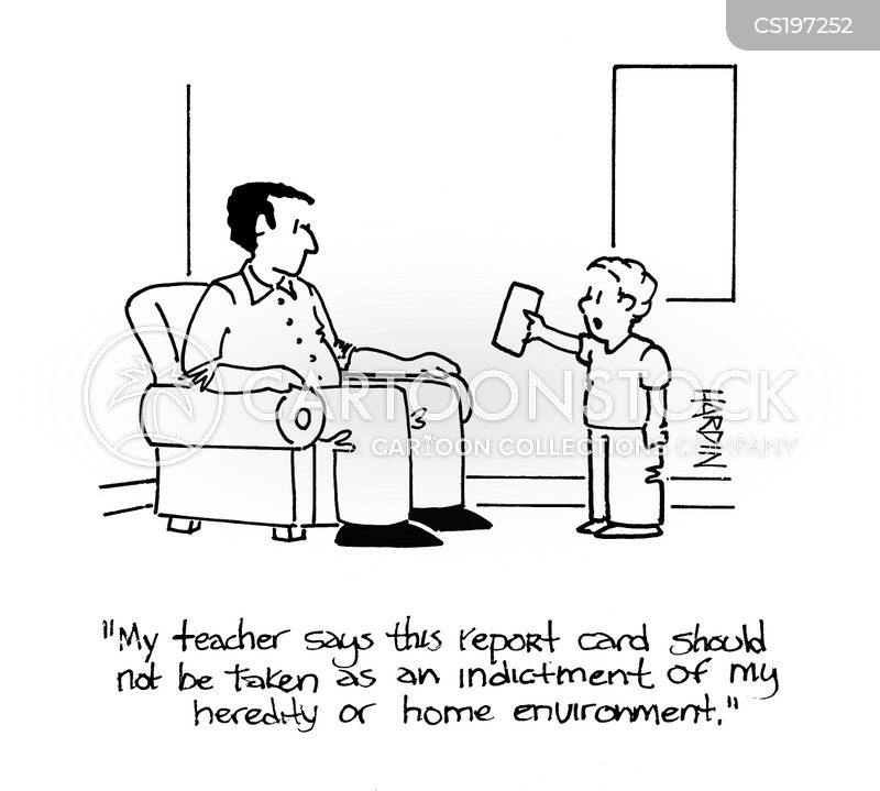 home environment cartoon