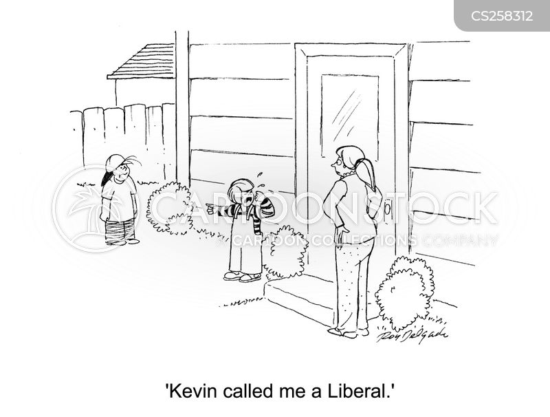 calling names cartoon