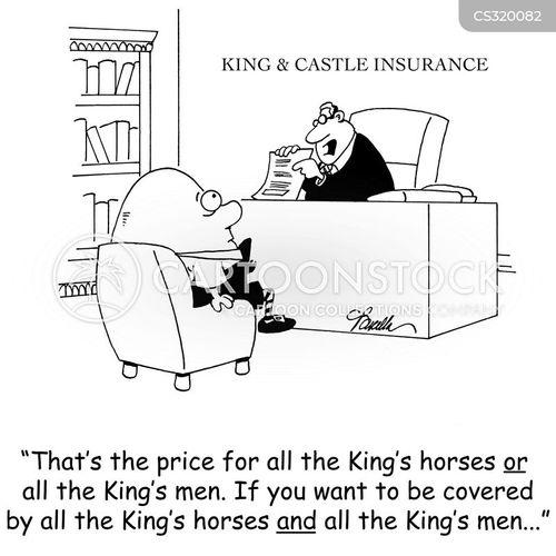 insurance sales cartoon