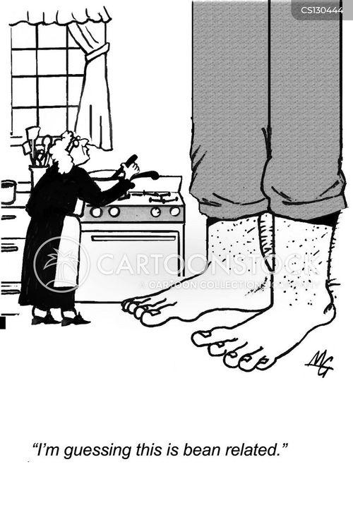 magic beans cartoon