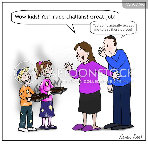 jewish cuisine cartoon