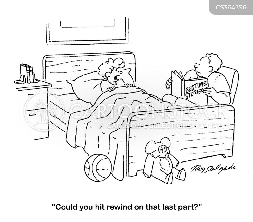 reading aloud cartoon
