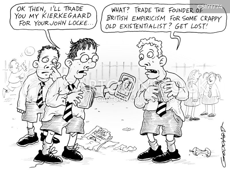 transaction cartoon