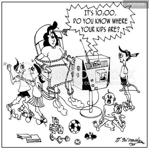 baby sitters cartoon