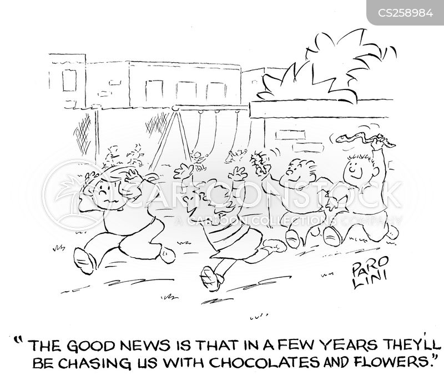 bunches cartoon