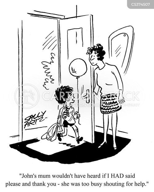 well mannered cartoon