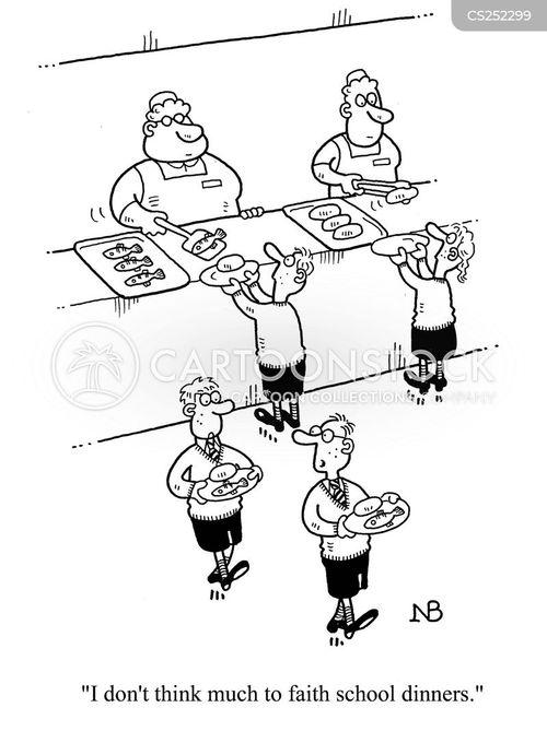 faith school cartoon