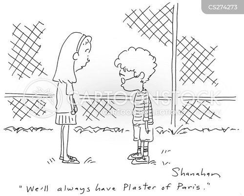 plastering cartoon