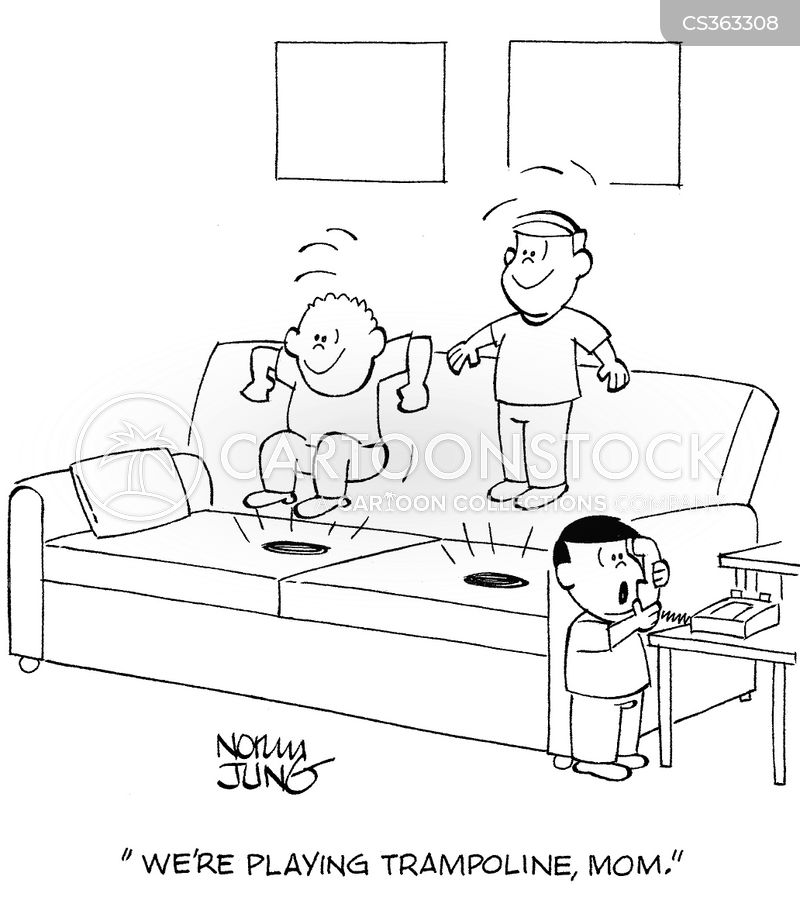 Jumping on the sofa cartoons and comics funny pictures for Funny sofa pictures