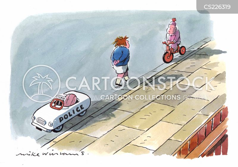 tricycles cartoon